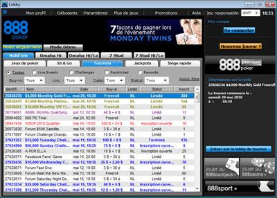 Software 888 Poker