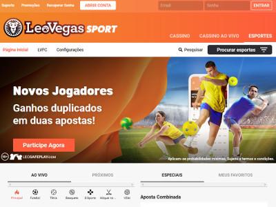 Apostas Esportivas Leo Vegas
